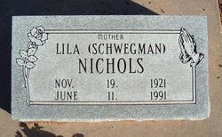 Lila <i>Schwegman</i> Nichols