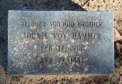 Johnnie Roy Hammer
