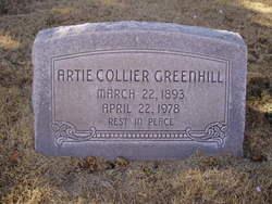 Artie M. <i>Collier</i> Greenhill