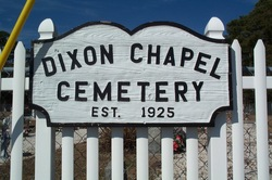 Dixon Chapel United Methodist Church Cemetery