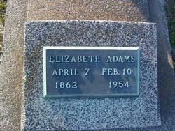 Elizabeth <i>Carson</i> Adams
