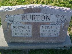 Norval Edward Burton