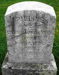 Pauline <i>Brandt</i> Baumgarten