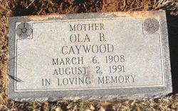 Ola B. <i>Campbell</i> Caywood