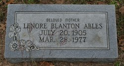 Lenore Blanton Ables