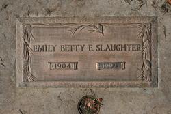 Emily Ellen Betty <i>Murphy</i> Slaughter