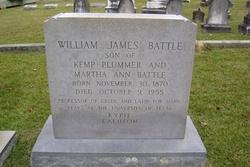 Dr William James Battle