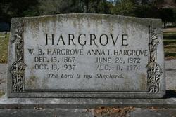 Anna Evelyn <i>Thorn</i> Hargrove