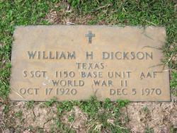 William Harland Dickson