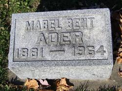 Mabel <i>Bent</i> Ader