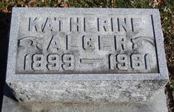 Katherine <i>Thomas</i> Alger