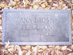 Ann Brown Goolsby