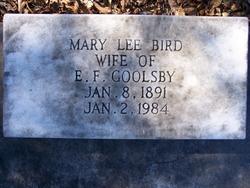 Mary Lee <i>Bird</i> Goolsby