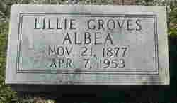 Lillian Alethia Lillie <i>Groves</i> Albea