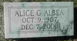Alice <i>Guillebeau</i> Albea