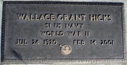 Wallace Grant Hicks