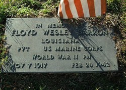 Pvt Floyd Wesley Barron