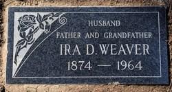 Ira Dennis Weaver