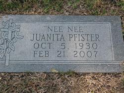 Juanita <i>Smith</i> Pfister