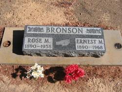 Ernest M Bronson