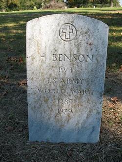 H Benson