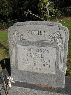 Addie Benson Carroll
