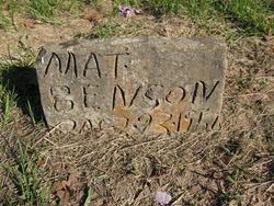 Mat Benson