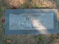 Eloh Fortson Benson