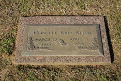 Clotille Burchfield <i>Reid</i> Allen
