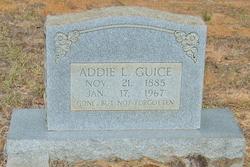 Effie Adeline Addie <i>Luce</i> Guice