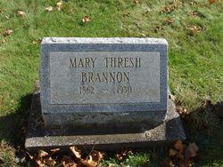 Mary E <i>Thresh</i> Brannon