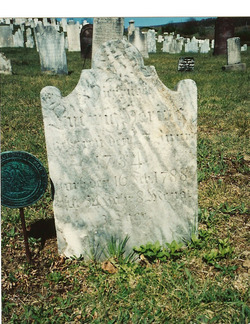 Ludwig Herring tombstone with Revolutionary War medallian