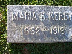 Maria <i>Kinnaird</i> Kerby