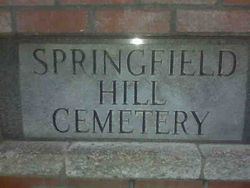 Springfield Hill Cemetery