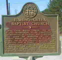 Fishing Creek Baptist Church Cemetery