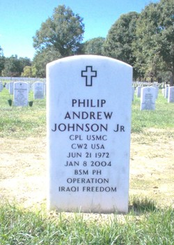 Corp Philip Andrew Johnson, Jr