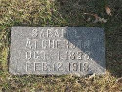 Sarah L Atcherson