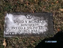 Speed V. Monroe