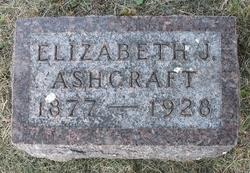 Elizabeth J <i>Hagan</i> Ashcraft