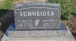 Gladys May <i>Volker</i> Schneider