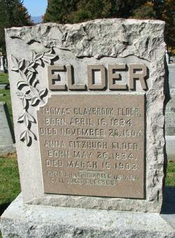 Anna <i>Fitzhugh</i> Elder