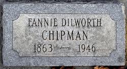 Fannie Louise <i>Dilworth</i> Chipman