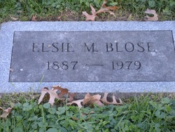 Elsie Marie <i>Snyder</i> Blose