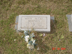 Monte <i>McCain</i> Mooney