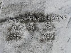 Homer Simmons Bryans