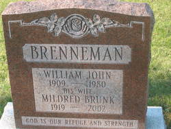 Iva Mildred <i>Brunk</i> Brenneman