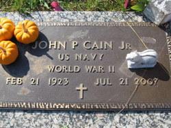 John P Cain, Jr