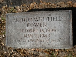 Arthur Whitfield Bowen