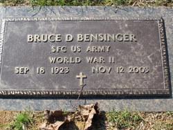 Bruce D Bensinger