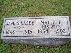 Martha F. Mattie <i>Pate</i> Kasey